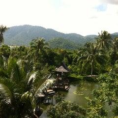 Photo taken at Santhiya Resort And Spa Koh Phangan by Marce on 12/6/2012