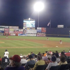 Photo taken at ARM & HAMMER Park by Richard S. on 7/19/2013
