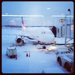 Photo taken at BWI Gate D5 by Coby R. on 1/24/2013