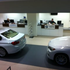 Photo taken at Global Imports BMW by Jeannette kyungmin K. on 2/25/2013