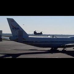 Photo taken at NASA Hangar 990 at EFD by Fernando D. on 10/30/2012