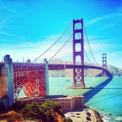 Photo taken at Golden Gate Bridge by Jeffrey L. on 6/21/2013