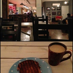 Photo taken at Vineapple Cafe by Nicole V. on 2/7/2013
