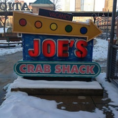 Photo taken at Joe's Crab Shack by Annie J. on 12/28/2012