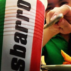 Photo taken at Sbarro by Danilo V. on 2/1/2013