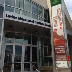 Photo taken at Levine Museum of the New South by Chris C. on 7/30/2013