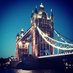 Photo taken at Tower Bridge by Natalia M. on 7/18/2013