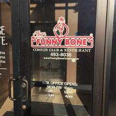 Photo taken at Funny Bone Comedy Club by Dennis J. on 9/15/2015