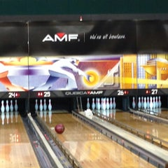 Photo taken at AMF Western Branch Lanes by Alex W. on 8/23/2014