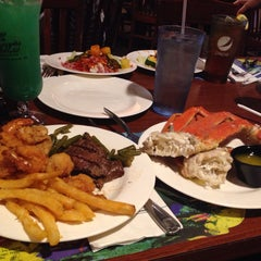 Photo taken at Capt Jacks Seafood Buffet by Kimberly J. on 5/22/2015