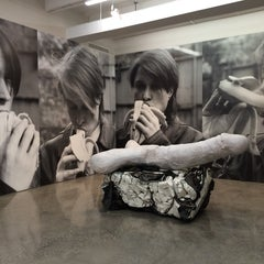 Photo taken at Gladstone Gallery by Chris K. on 4/18/2014