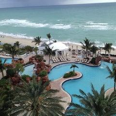 Photo taken at Trump International Beach Resort by Dan P. on 12/4/2012