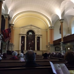 Photo taken at St Paul's Church by Brian S. on 3/6/2014
