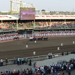 Photo taken at Stampede Park by Tracy L. on 7/9/2015