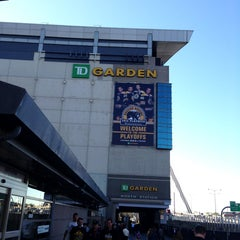 Photo taken at TD Garden by James L. on 5/1/2013