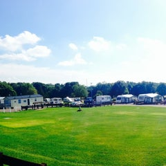 Photo taken at Alton the Star Camping and Caravanning Club Site by Habib on 8/16/2013