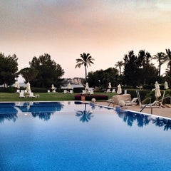 Photo taken at The St. Regis Mardavall Mallorca Resort by @pureGLAMtv on 6/1/2014