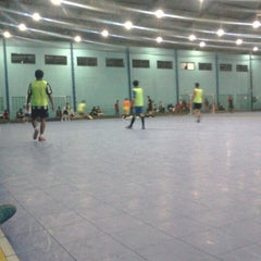 Photo taken at YPKP Indoor Soccer Center by Yogie E. on 5/16/2013