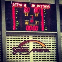 Photo taken at Sritex Arena by DEDI S. on 3/10/2013