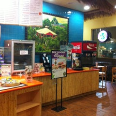 Photo taken at Tropical Smoothie Café by Marie F. on 12/30/2012