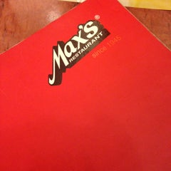 Photo taken at Max's Restaurant by Randy P. on 3/23/2013