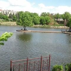 Photo taken at Centennial Lakes Park by Jim C. on 5/31/2013