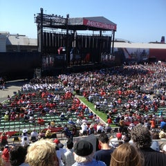 Photo taken at America's Cup Pavilion by Christine M. on 7/4/2013