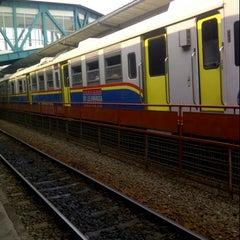 Photo taken at Stasiun Medan by Donie L. on 1/19/2013