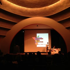 Photo taken at The New School Auditorium at 66W 12th by Pedro T. on 4/20/2013