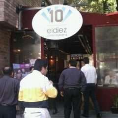 Photo taken at El Diez by Arturo G. on 10/5/2012