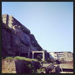 Photo taken at 端島 (軍艦島) Hashima (Gunkanjima) Island by jun 8. on 4/28/2013