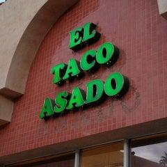 Photo taken at El Taco Asado by Gerald G. on 1/2/2013