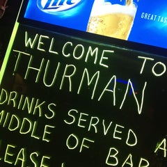 Photo taken at The Thurman Cafe by Ray O. on 10/27/2012