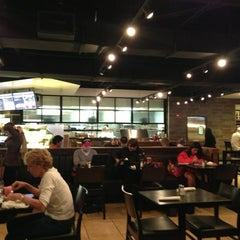 Photo taken at Wolfgang Puck Express by Shannon P. on 12/19/2012