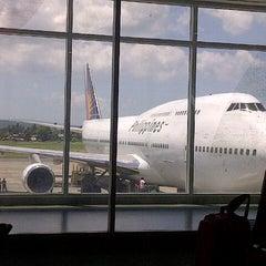 Photo taken at Francisco Bangoy International Airport (DVO) by Jonn C. on 4/6/2013