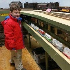 Photo taken at South Shore Model Railway Club by Stephen J. on 3/14/2015