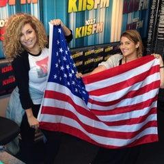 Photo taken at KIIS FM by Alex G. on 7/1/2014