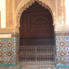 Photo taken at Saadian Tombs | قبور السعديين by Lily A. on 11/22/2012