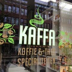 Photo taken at Kaffa by Guglielmina V. on 2/21/2014