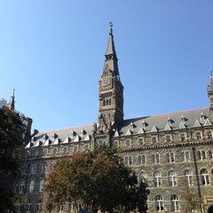 Photo taken at Georgetown University by TJ C. on 10/6/2012