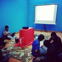 Photo taken at Gedung Cyber 1 (Elektrindo) by Fauzan A. on 6/14/2014