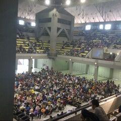 Photo taken at Universitas Indonesia by Adi T. on 4/27/2013