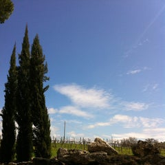 Photo taken at Relais Villa Acquaviva by Vizio on 4/3/2013