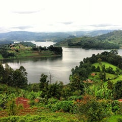 Photo taken at Bunyonyi Overland Resort by Nellie H. on 10/11/2013