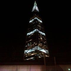 Photo taken at Al-Faisaliah Tower by Hnoo A. on 8/18/2013