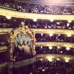 Photo taken at Мариинский театр / Mariinsky Theatre by Kamilla on 12/15/2012