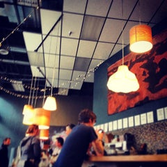 Photo taken at Awaken Cafe by Isaiah D. on 2/19/2013