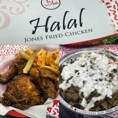 Photo taken at Jones Fried Chicken by Sameer's E. on 4/18/2015