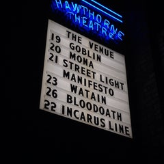 Photo taken at Hawthorne Theatre by Lori B. on 10/20/2013