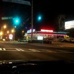 Photo taken at Landmark Diner by Henry H. on 1/1/2013